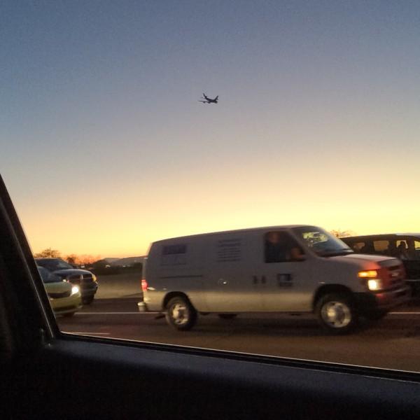 British Airways flight 289 heading west ontime on December 18th, 2014.