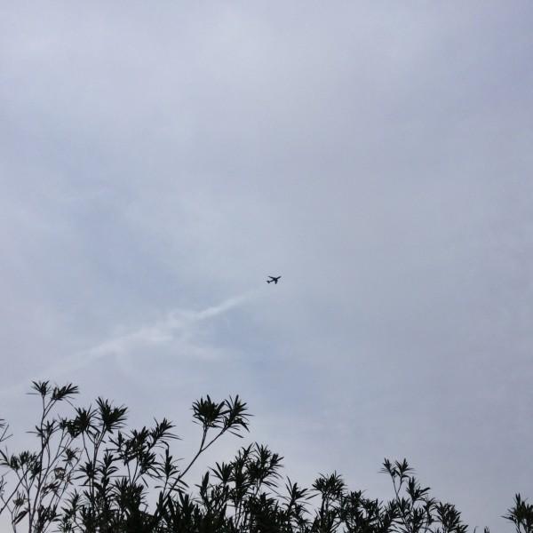 BA289 coming into a hazy Phoenix on February 20th, 2015.