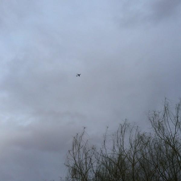 BA289 landing in a heavy overcast sky. ba289.com