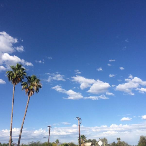 BA289 in deep blue Arizona skies, May 18th, 2015.