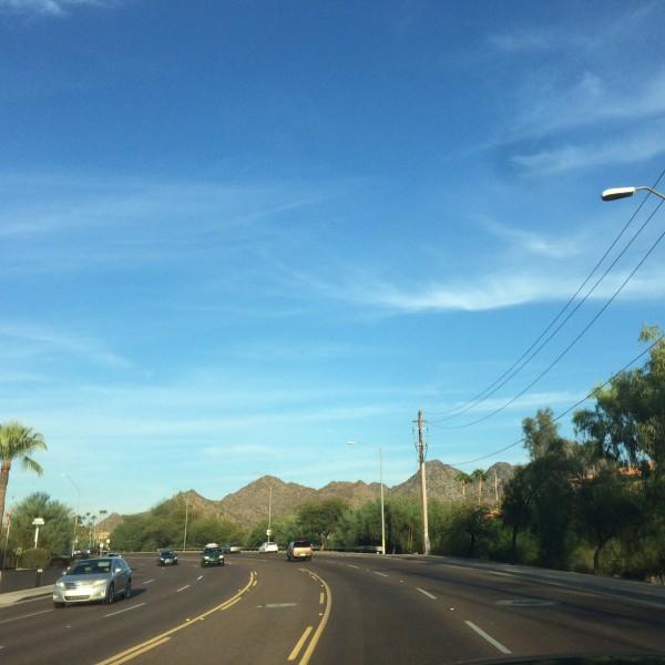 BA289 Over Phoenix Sept 28, 2015